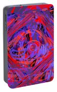 Graphic Explosion Portable Battery Charger