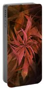 Grass Abstract - Fire Portable Battery Charger