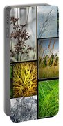 Grass Collage Variety Portable Battery Charger