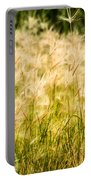 Grass Feathers Portable Battery Charger
