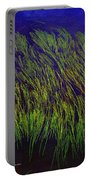 Grass In The Lake Portable Battery Charger