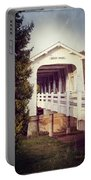 Grave Creek Covered Bridge Portable Battery Charger