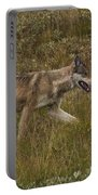 Gray Wolf Hunting Portable Battery Charger