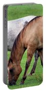Grazing At Dusk Portable Battery Charger