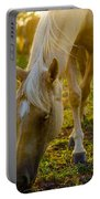 Grazing At Sunset Portable Battery Charger