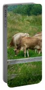 Grazing Cows Portable Battery Charger