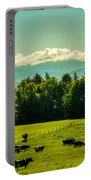 Grazing Holsteins Portable Battery Charger