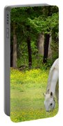 Grazing In Golden Fields Portable Battery Charger