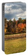 Grazing On The Farm Portable Battery Charger by Joann Vitali