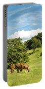 Grazing Summer Cows Portable Battery Charger