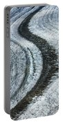 Great Aletsch Glacier Moraine Portable Battery Charger