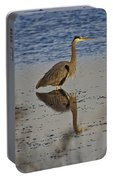 Great Blue Heron 1 Portable Battery Charger