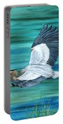 Great Blue Heron-3a Portable Battery Charger