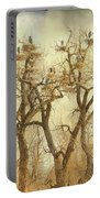 Great Blue Heron Hangout Fine Art Portable Battery Charger