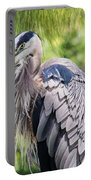 Great Blue Heron Iv Portable Battery Charger