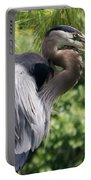 Great Blue Heron Vi Portable Battery Charger