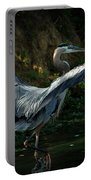 Great Blue Herron Portable Battery Charger