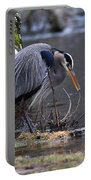 Great Blue On The Clinch River II Portable Battery Charger
