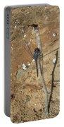 Slaty Skimmer Dragonfly Shadow Portable Battery Charger