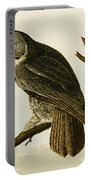 Great Cinereous Owl Portable Battery Charger