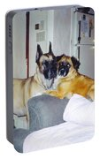 Great Dane And Australian Shepardd Portable Battery Charger