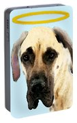 Great Dane Art - I Didn't Do It Portable Battery Charger