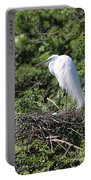 Great Egret Nest Portable Battery Charger