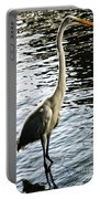 Great Egret No. 2 Portable Battery Charger