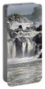 Great Falls Of The Potomac River Portable Battery Charger