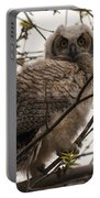 Great Horned Owlet 2 Portable Battery Charger