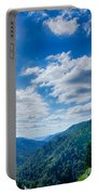 Great Smoky Mountains National Park On North Carolina Tennessee  Portable Battery Charger