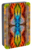 Great Spirit Abstract Pattern Artwork By Omaste Witkowski Portable Battery Charger