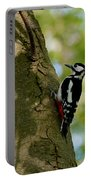 Great Spotted Woodpecker Portable Battery Charger