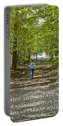 Great Treasures Portable Battery Charger by Sandra Clark