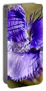 Greater Fringed Gentian Portable Battery Charger