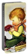 Greedy Petey Portable Battery Charger by Chalot Byi