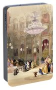 Greek Church Of The Holy Sepulchre Portable Battery Charger