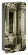 Greek Theatre 7 Golden Age Portable Battery Charger by Angelina Vick