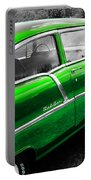 Green 1957 Chevy Portable Battery Charger