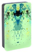 Green Alien Portable Battery Charger