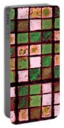 Green And Brown Sudoku Portable Battery Charger