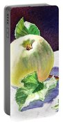 Green Apple Portable Battery Charger