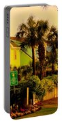 Green Beauty At Isle Of Palms Portable Battery Charger