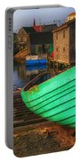 Green Boat Peggys Cove Portable Battery Charger