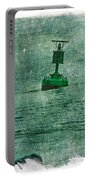 Green Buoy - Barnegat Inlet - New Jersey - Usa Portable Battery Charger