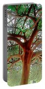 Green Canopy Portable Battery Charger by Terry Reynoldson