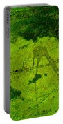 Green Color Sigh Portable Battery Charger