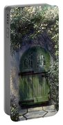 Green Door Portable Battery Charger by Terry Reynoldson