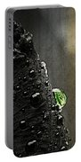 Green Droplet  Portable Battery Charger
