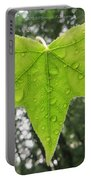 Green Droplets Portable Battery Charger